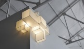 Flexible And Minimalist Cubic Ceiling Lamps