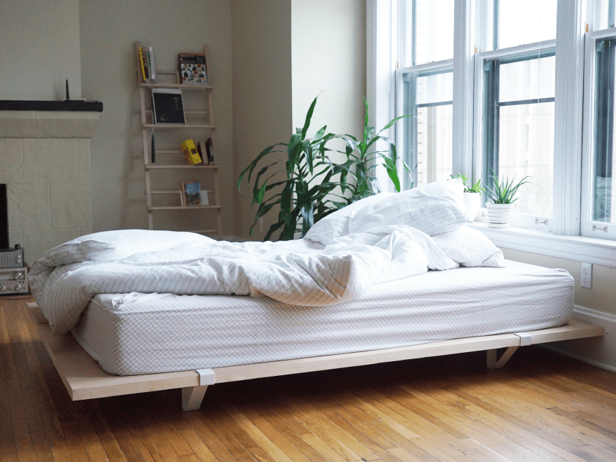 Flexible And Sustainable Flod Platform Bed