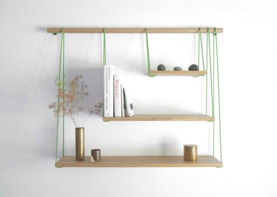 Flexible Bridge Shelves For A Smart Storage