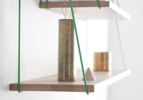 Flexible Bridge Shelves For A Smart Storage