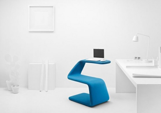 Flexible Colorful Chair That Can Get Any Shape