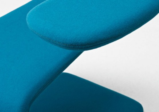 Flexible Colorful Modern Chair For Any Space