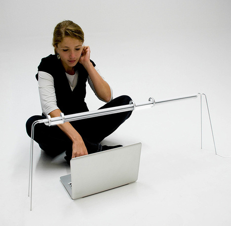 Flexible Desk LED Lamp With Innovative Controlling System