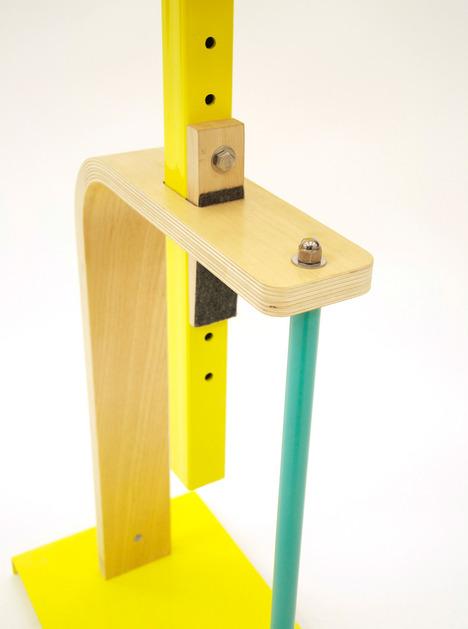 Flexible Industrial Platform Side Table
