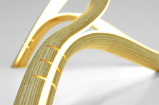 Flexible Minimalist Free From Lamp