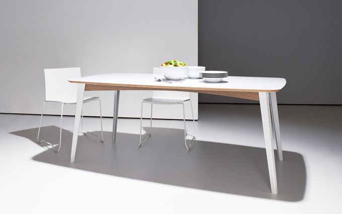 Flexible Modern Desk And Dining Table In One Digsdigs