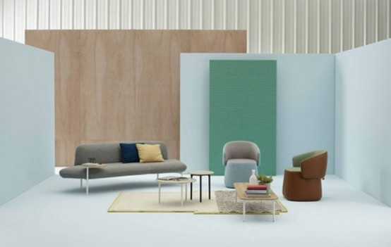 Flexible Openest Furniture Collection For Collaborative Spaces