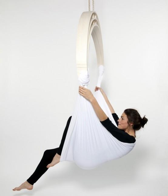 Flexible Zen Circus Yoga Chair