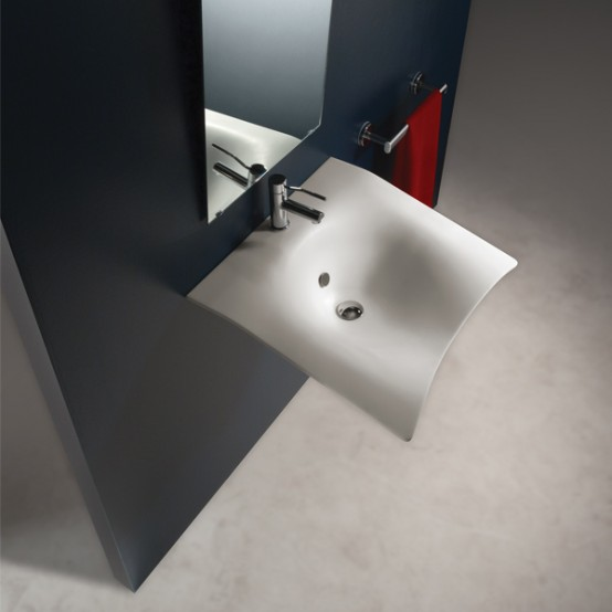 Contemporary Sink for Everyone – Flight by Goman