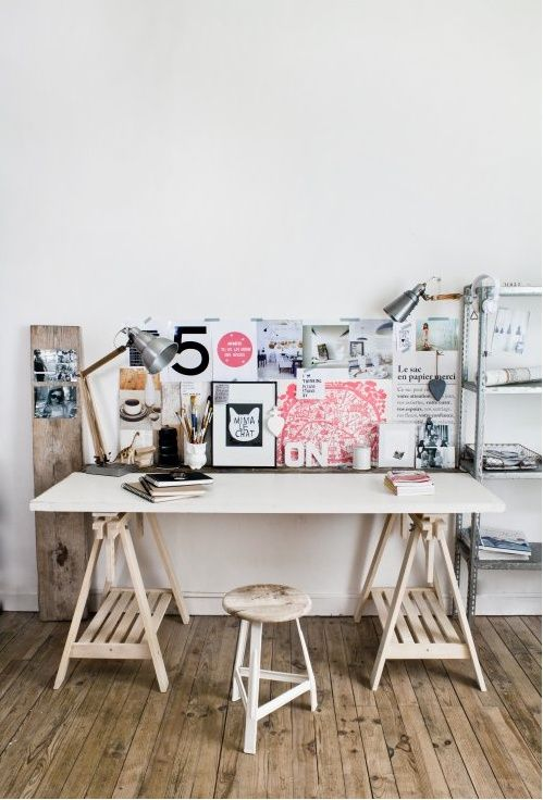 floppy but refined boho chic home offices chic home office design