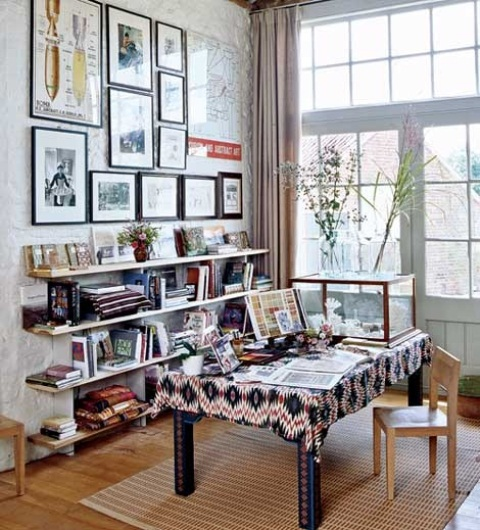 Superieur Floppy But Refined Boho Chic Home Offices