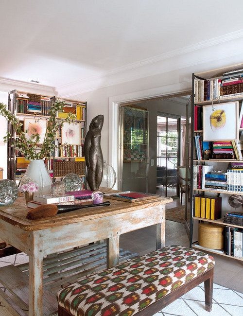 Superieur 40 Floppy But Refined Boho Chic Home Office Designs