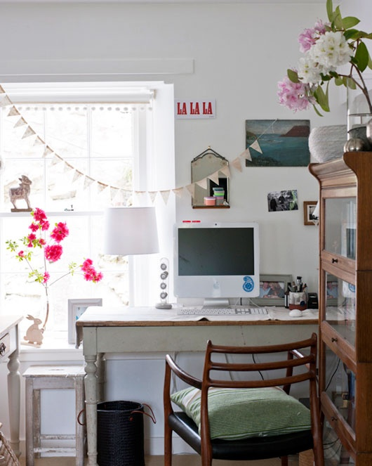 Boho Office Room Ideas