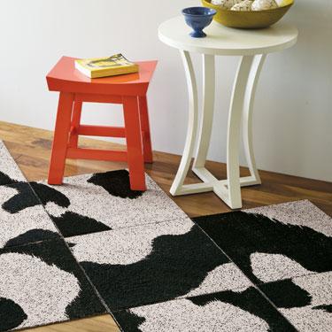 flor carpet stampede bw