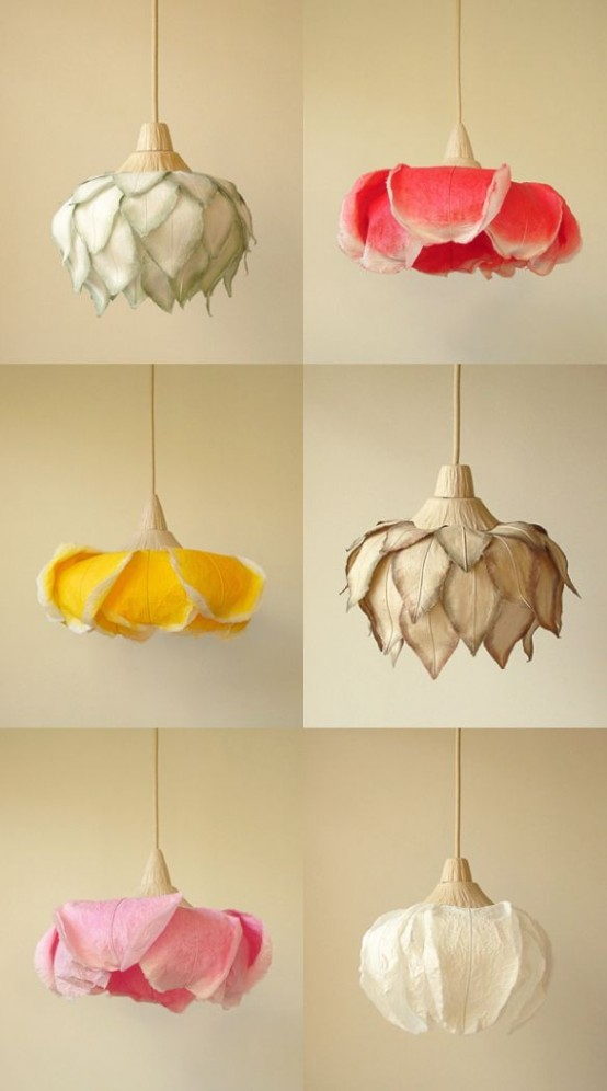 nature inspired lighting. Flower And Plant Inspired Lamps Nature Lighting