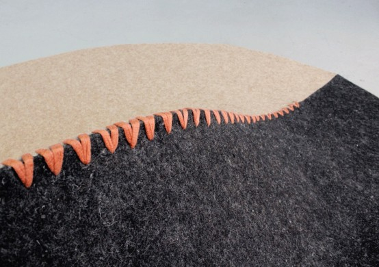 Foam Furniture And Mountain Inspired Chair By Susan Qiu