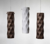 Folded Lighting Collection Inspired By Origami Art