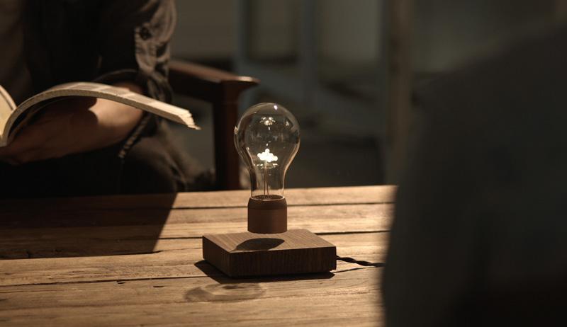 Forget The Gravitation: Levitating FLYTE Light