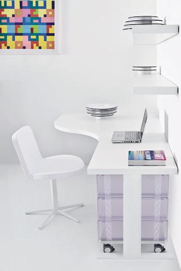 Forma White Desk