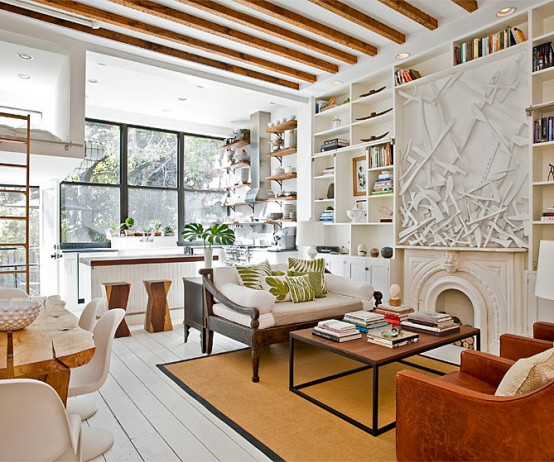 Four Story Townhouse With Cosy Interior