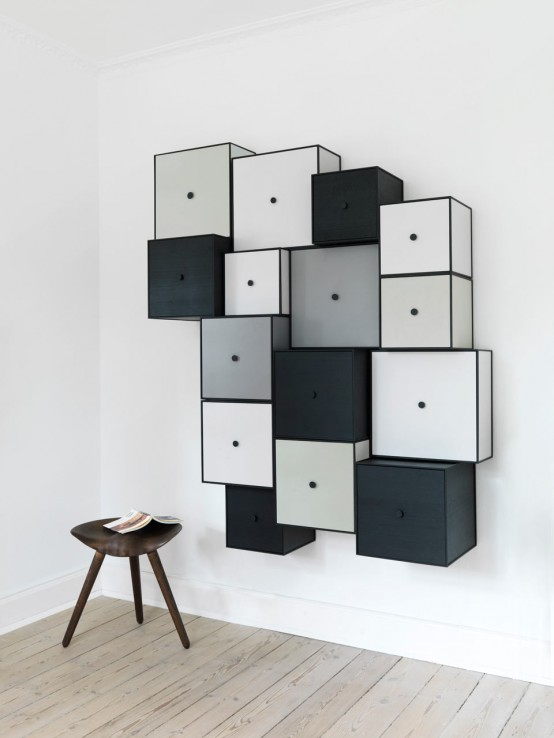 Frame Storage Modules That Look Two-Dimensional