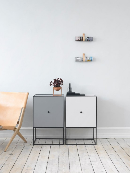Frame Storage Modules That Look Two Dimensional