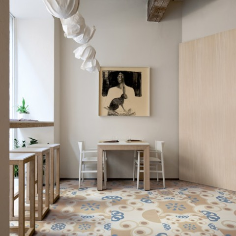 Frame-Up Tile Collection Reinterpreting Traditional Italian Patterns