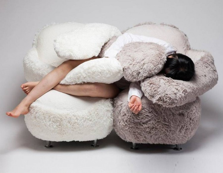 Free Hug Sofa To Relax After A Hard Day