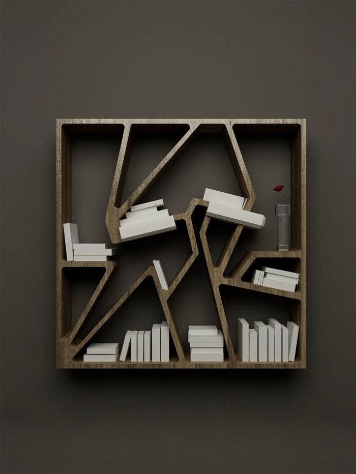 Furniture Design Modern storage leaning shelves with wood design leaning shelves cool