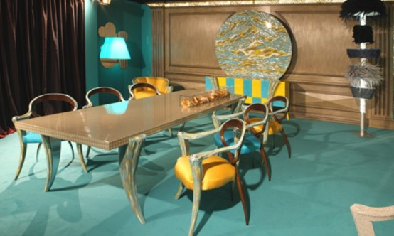 Fresh And Modern Furniture For Dining Room