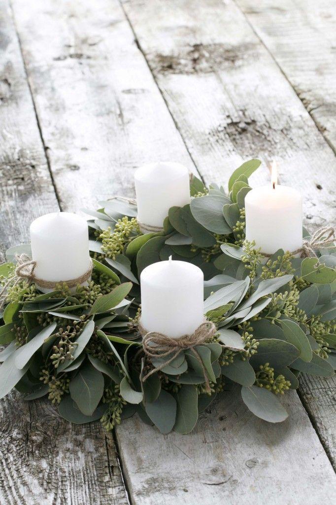 32 original fresh eucalyptus christmas d cor ideas digsdigs for Decoration original