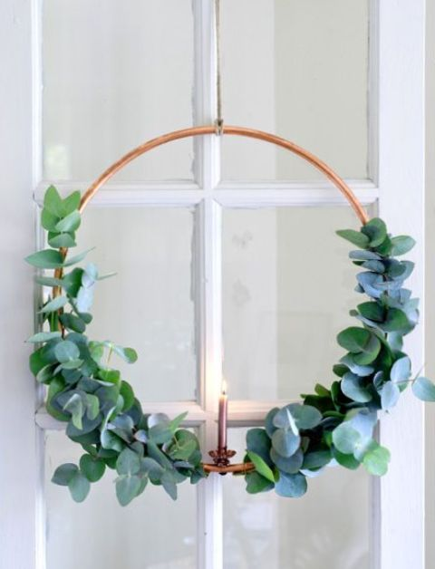 32 Original Fresh Eucalyptus Christmas Décor Ideas