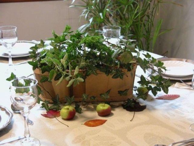 Fresh Green Thanksgiving Decor Ideas