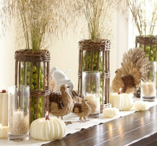 39 Fresh Green Thanksgiving D Cor Ideas Digsdigs