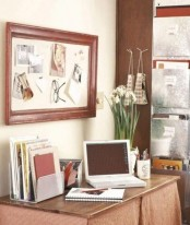 some fresh spring bulbs in pots or vases will make your home office feel spring-like and very welcoming