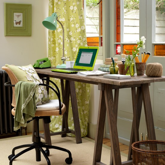 25 home office d cor ideas to bring spring to your for Your home decor
