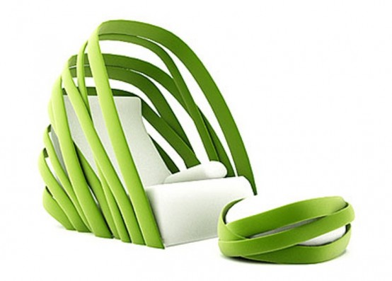 Fresh Nature-Inspired Lounge Chair Design