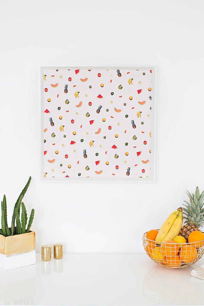 Fruit Print Ideas In Home Decor