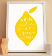 Fruit Print Ideas In Home Decor