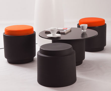 Fruity Colored Stools