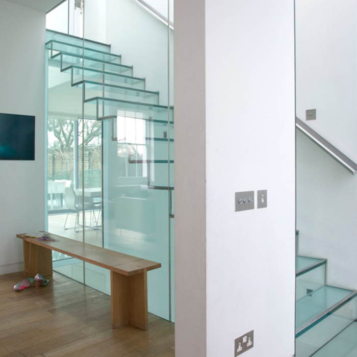 This Full Height Glazed Atrium Definitely Could Become A Stunning And  Eye Catching Feature Of Any Home. The Use Of Glass In A Main Stairway  Creates An ...