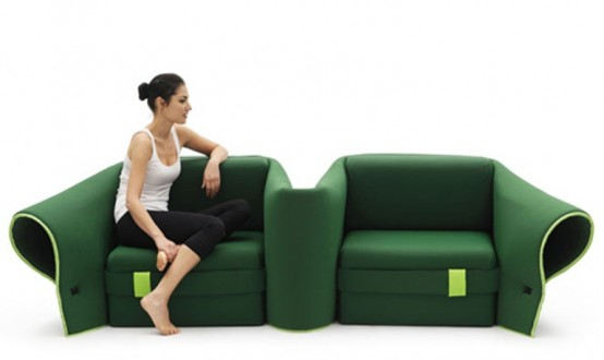Fully Transformable Sofa That Can Be Adapted To Any Needs
