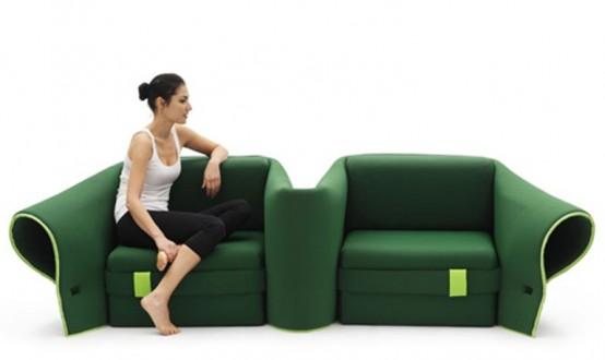Fully Transformable Sofa