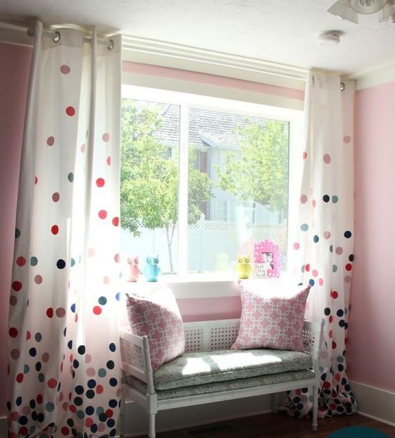Fun And Bright Polka Dot Home Decor Ideas