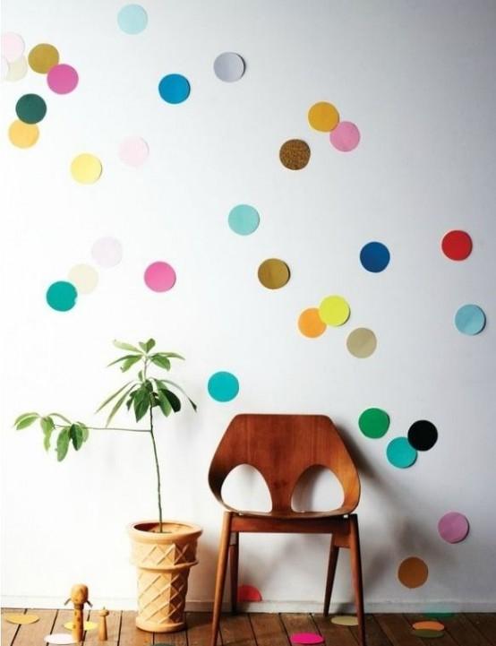 Stunning Fun And Bright Polka Dot Home Decor Ideas