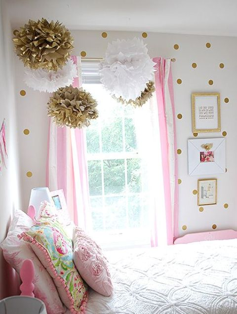 fun and bright polka dot home decor ideas - Fun Home Decor Ideas