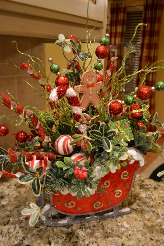 Fun And Creative Sleigh Decor Ideas For Christmas