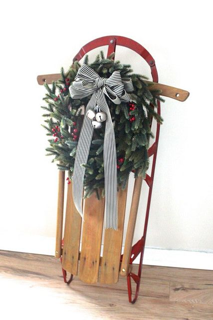 33 creative and fun sleigh d cor ideas for christmas