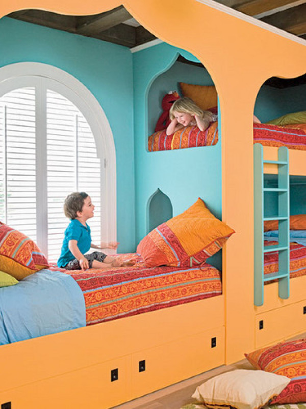 25 fun and cute kids room decorating ideas digsdigs for Fun room decor