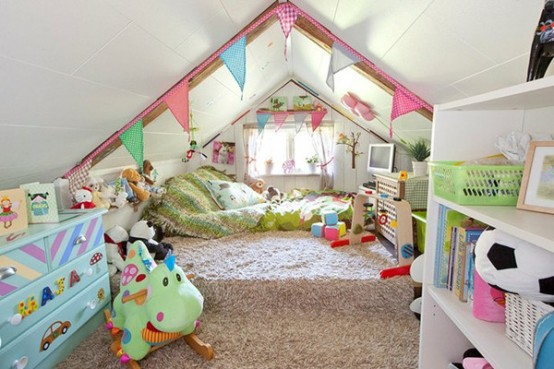 Attrayant Fun And Cute Kids Bedroom Designs